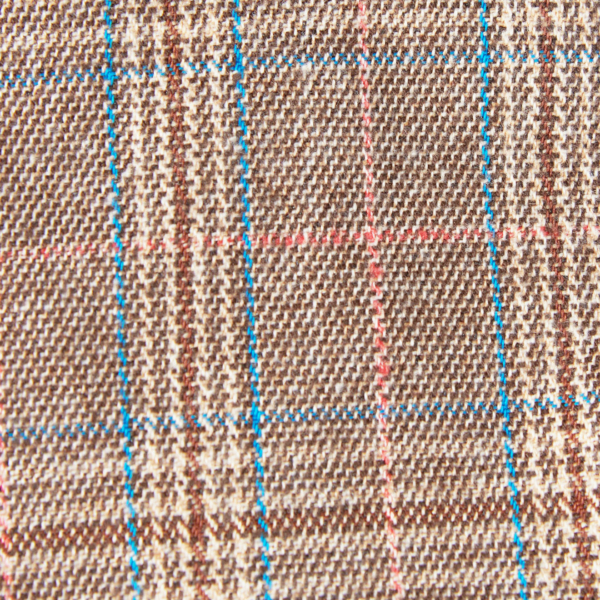 Barbour Ashford Flat Cap Olive Checked Design Pattern