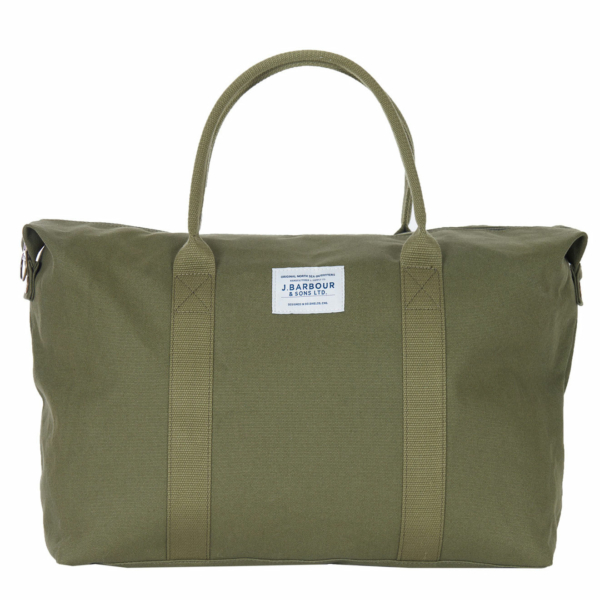 Barbour Benn Weekender Bag Khaki
