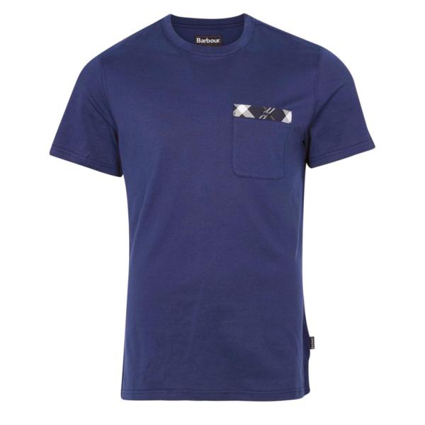 Barbour Bryce T-Shirt Regal Blue
