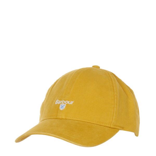 Barbour Cascade Sports Cap Yellow Front