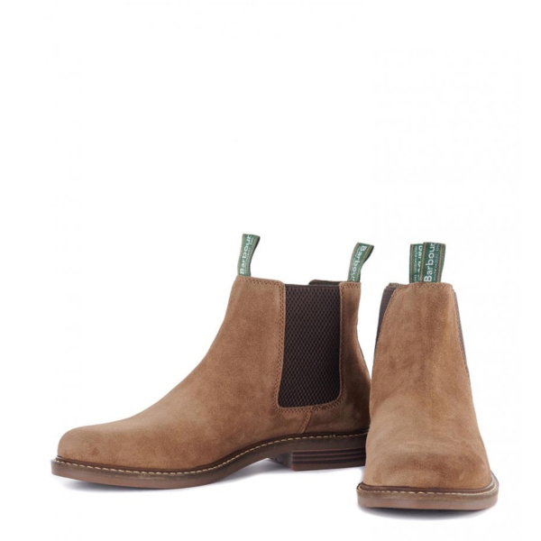 Pair of Barbour Farsley Chelsea Boot Sand