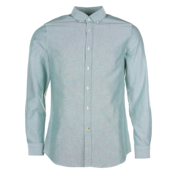 Barbour Oxford 3 L/S Tailored Shirt Green