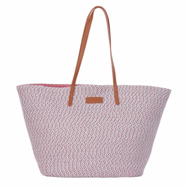 Barbour Womens Colour Twist Tote Bag Multi
