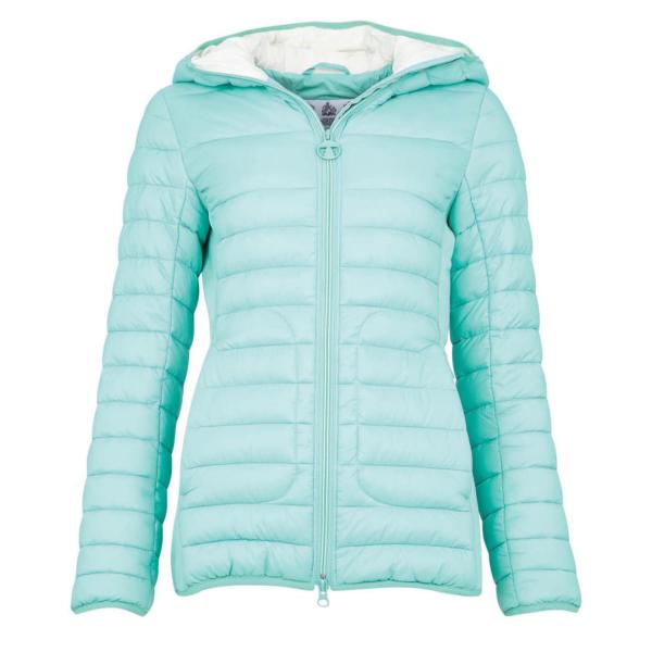 Barbour Womens Saltburn Quilt Jacket Mint