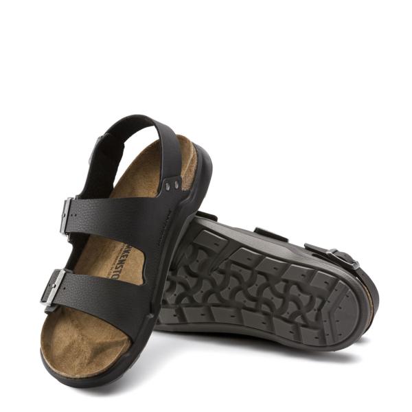 Birkenstock Milano Sandal Desert Soil Black