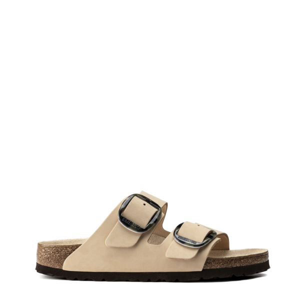Birkenstock Womens Arizona Big Buckle Sandal Printed NU Almond