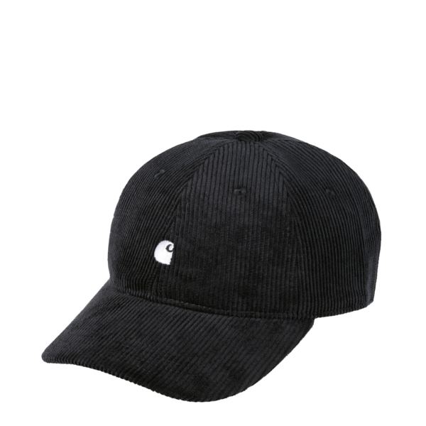 Carhartt Harlem Cap Corduroy Black / Wax