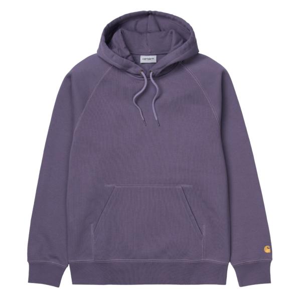Carhartt Hooded Chase Sweatshirt Provence / Gold
