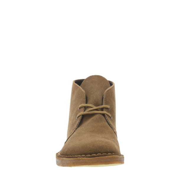 Clarks Originals Desert Boot Cola Suede