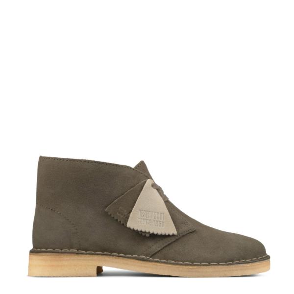 Clarks Original Womens Desert Boot Sage Suede