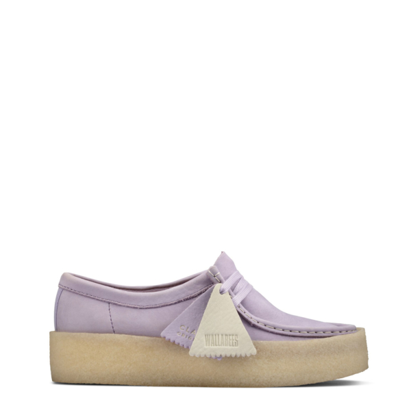 Clarks Originals Womens Wallabee Cup Shoe Lilac
