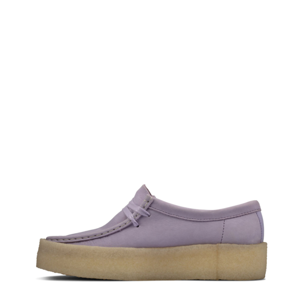 Clarks Originals Womens Wallabee Cup Shoe Lilac