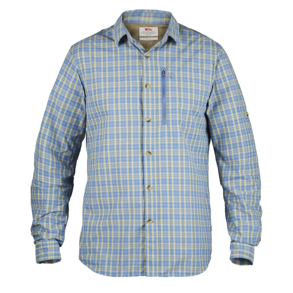 Fjallraven Abisko Hike Shirt Blue Shirt