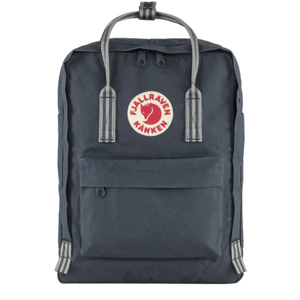 Fjallraven Kanken Classic Backpack Navy / Long Stripe