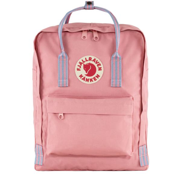 Fjallraven Kanken Classic Backpack Pink / Long Stripe