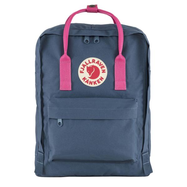 Fjallraven Kanken Classic Backpack Royal Blue / Flamingo Pink