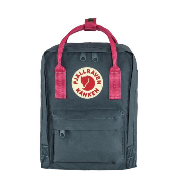 Fjallraven Kanken Mini Backpack Royal Blue / Flamingo
