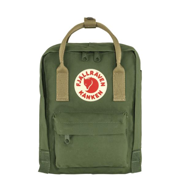 Fjallraven Kanken Mini Backpack Spruce Green / Clay