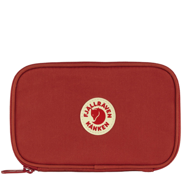 Fjallraven Kanken Travel Wallet True Red
