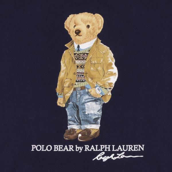Polo Ralph Lauren Bear Print S/S Tee Cruise Navy