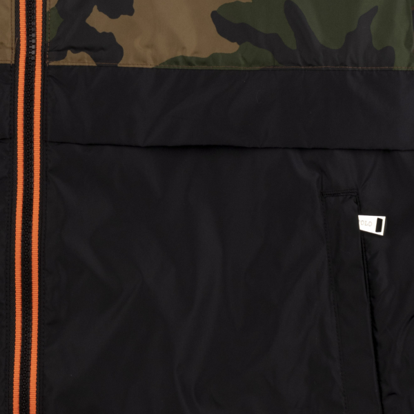 Polo Ralph Lauren Belport Windbreaker Jacket Surplus Camo / Polo Black