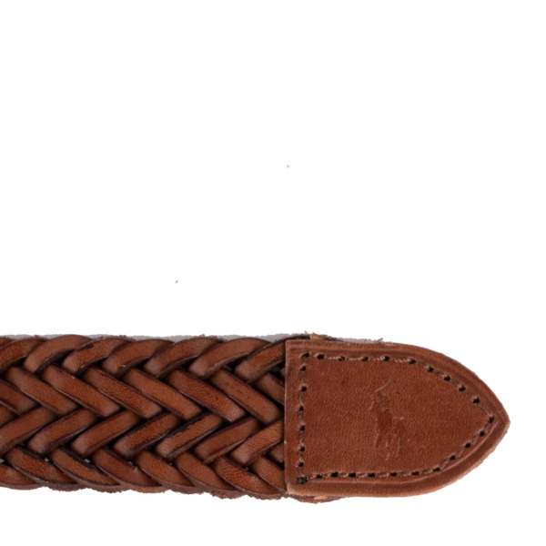 Polo Ralph Lauren Casual Braided Belt Polo Saddle