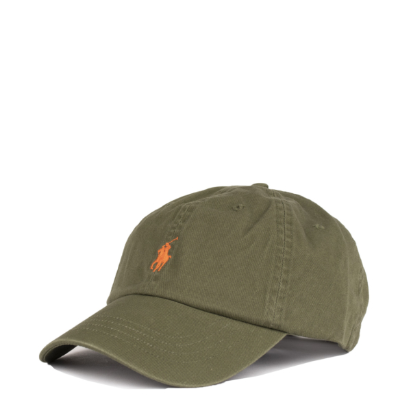 Polo Ralph Lauren Classic Sports Cap Supply Olive