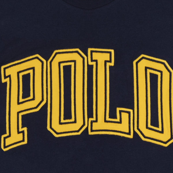 Polo Ralph Lauren College Print Tee Cruise Navy