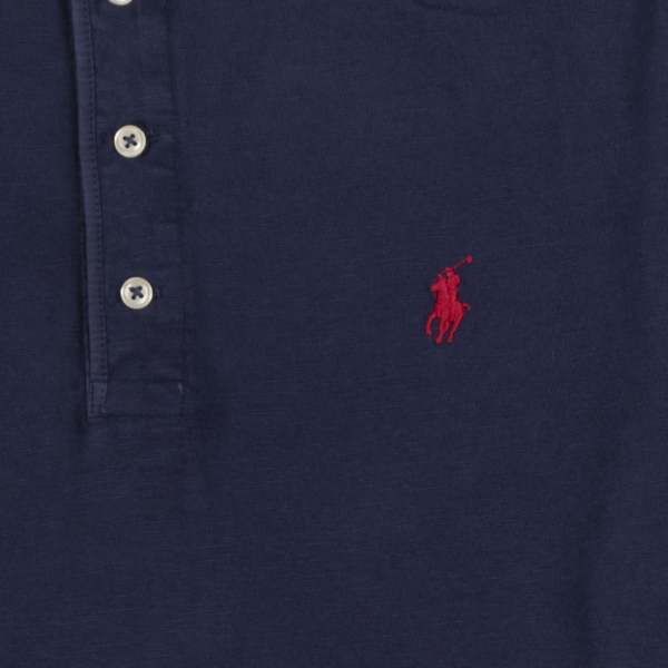 Polo Ralph Lauren Henley Jersey L/S T-Shirt Cruise Navy