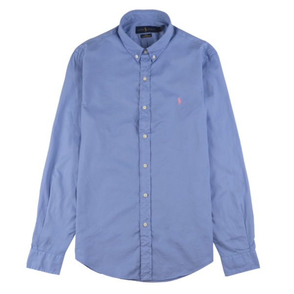 Polo Ralph Lauren LS Twill Slim Fit Shirt Cabana Blue