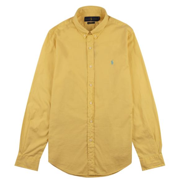 Polo Ralph Lauren LS Twill Slim Fit Shirt Empire Yellow