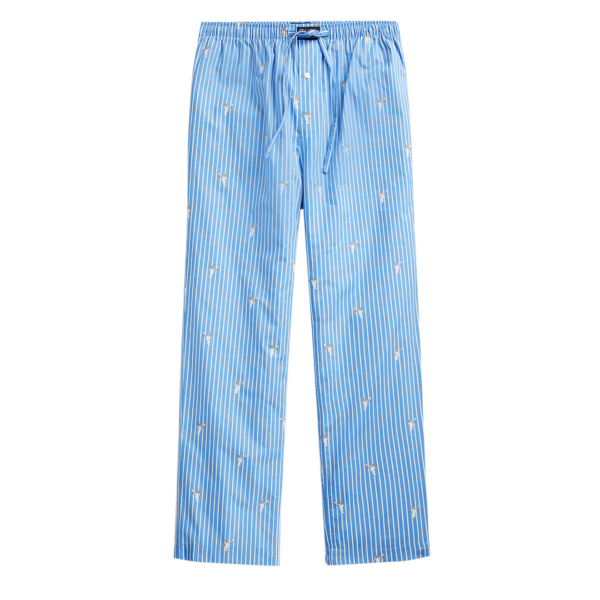 Polo Ralph Lauren PJ Pant Sleep Bottom Tennis Bear Stripe