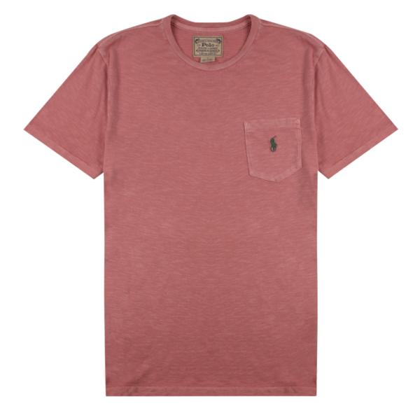 Polo Ralph Lauren Pocket Washed T-Shirt Desert Rose