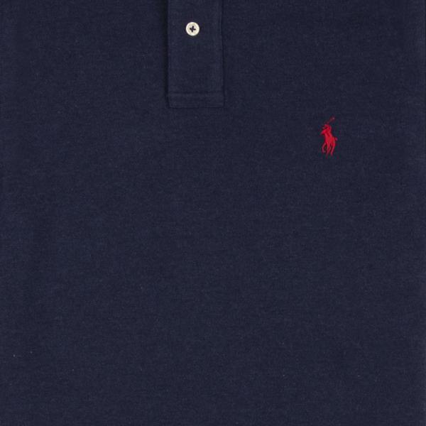 Polo Ralph Lauren Slim Fit Polo Shirt Spring Navy Heather