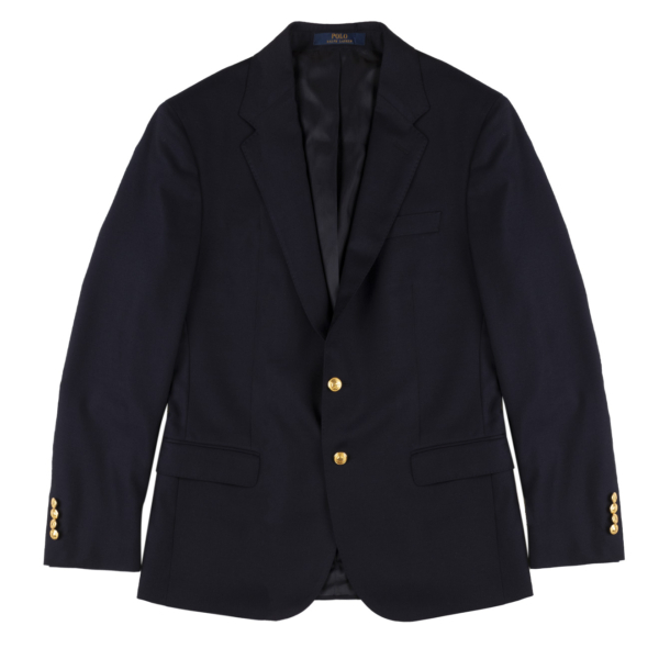 Polo Ralph Lauren Solid Twill Sports Jacket Classic Navy