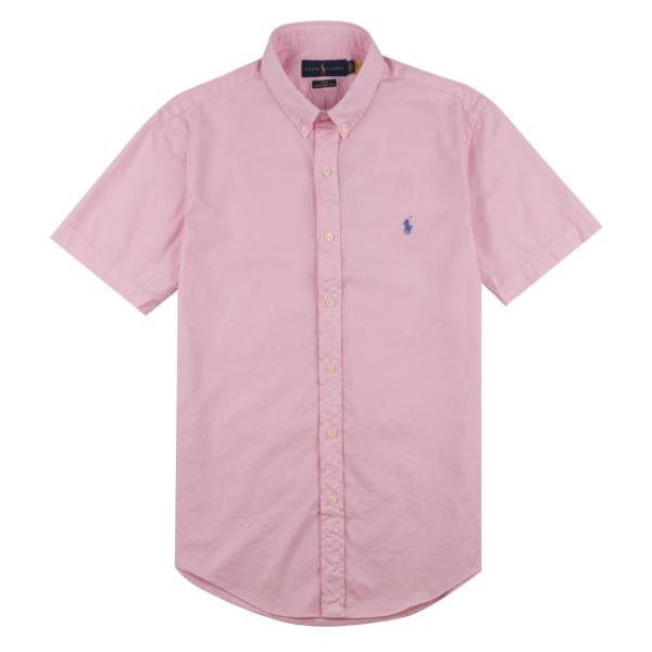 Polo Ralph Lauren Twill BD S/S Shirt Carmel Pink
