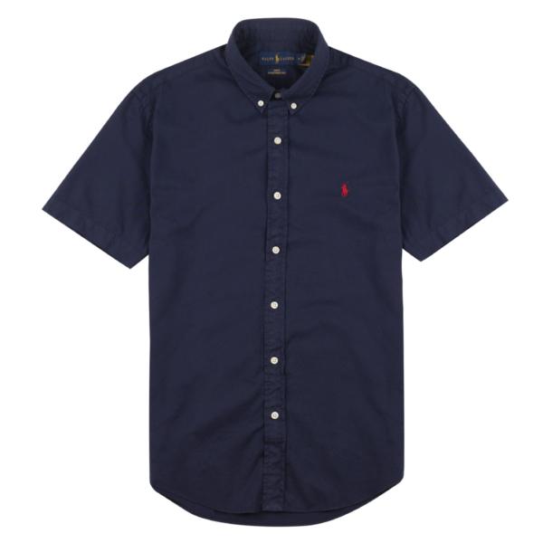 Polo Ralph Lauren Twill BD S/S Shirt Cruise Navy