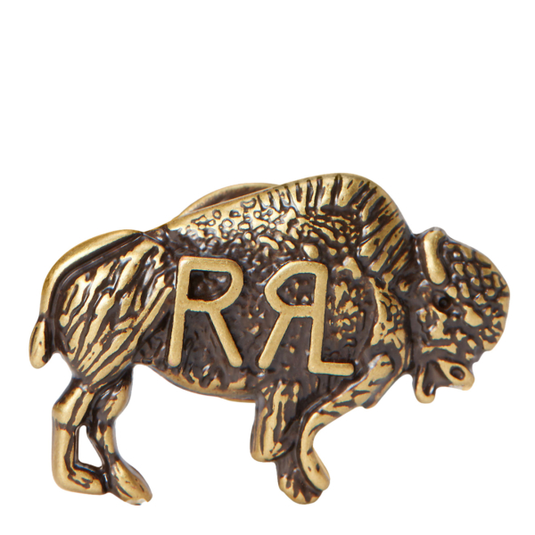 RRL by Ralph Lauren Buffalo Pin Brass