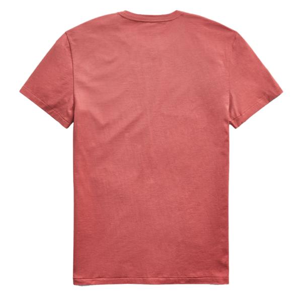 RRL by Ralph Lauren Crewneck S/S T-Shirt Burnt Clay