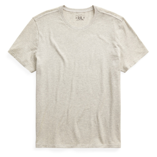 RRL by Ralph Lauren Crewneck S/S T-Shirt Heather Grey