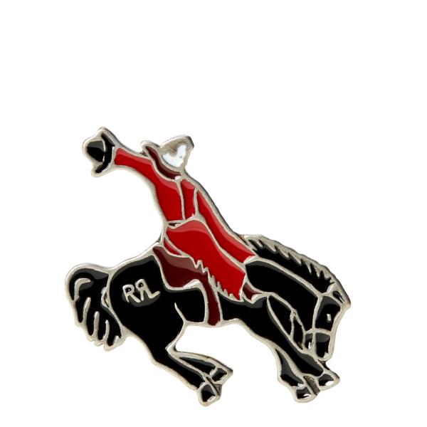 RRL by Ralph Lauren Enamel Bucking Bronco Brass
