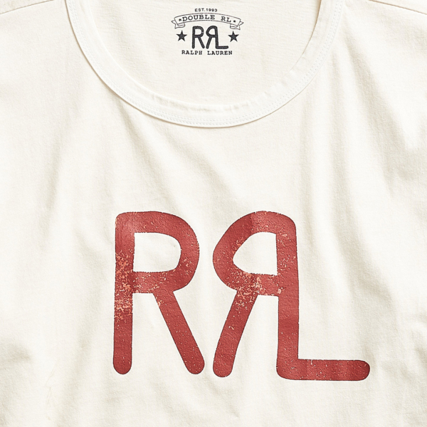 RRL by Ralph Lauren S/S Logo T-Shirt Natural
