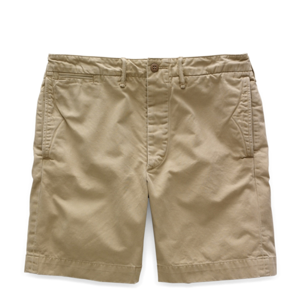 RRL by Ralph Lauren Officers Chino Short Military Khaki