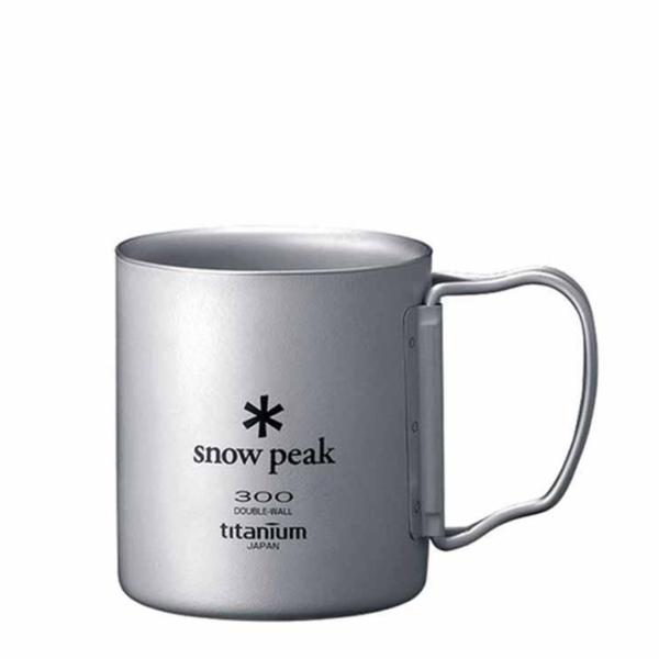 Snow Peak Double Wall 300 Mug Titanium
