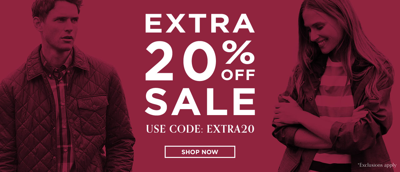 Extra 20% Off Outdoor & Countrywear Sale