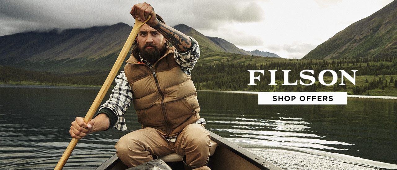 Filson Mens and Womens Clearance Sale