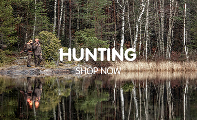 Hunters in the Wilderness kitted out with Fjallraven Shooting clothing, jackets, hats and accessories.