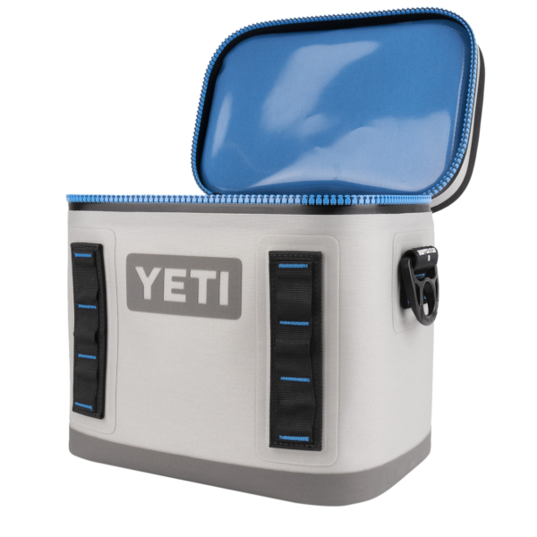 YETI Hopper Flip 8 Soft Cooler Fog Grey
