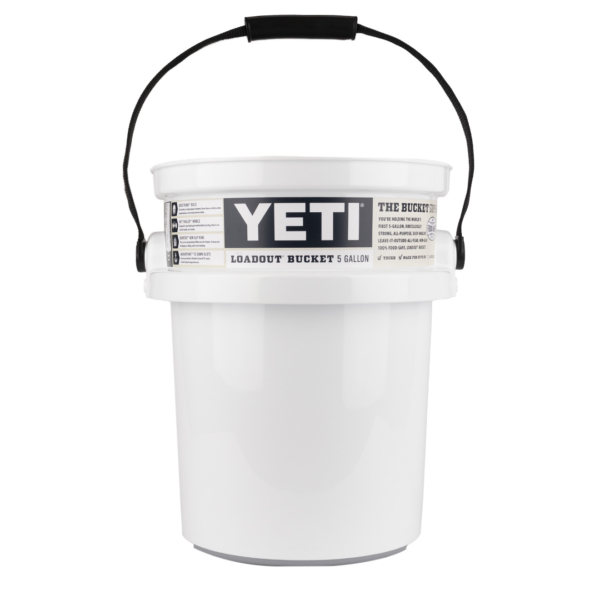 YETI Loadout 5 Gallon Bucket White