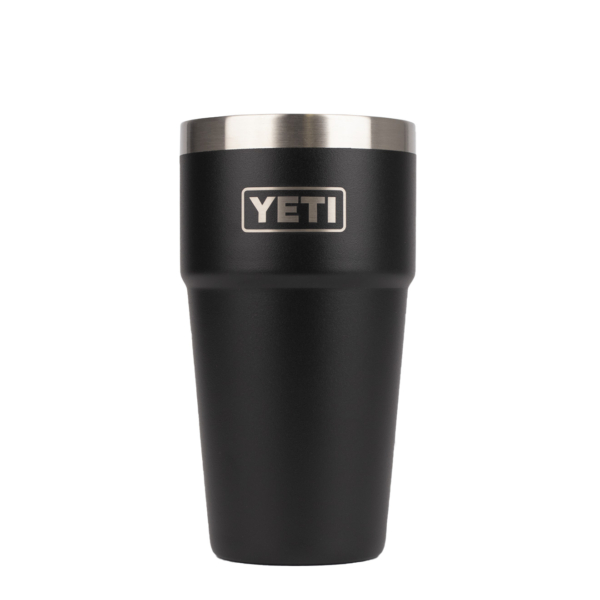 YETI Stackable Pint 16oz Black